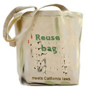 Reuse bags are dirty